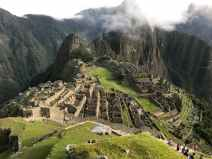clouds daylight inca inca temple