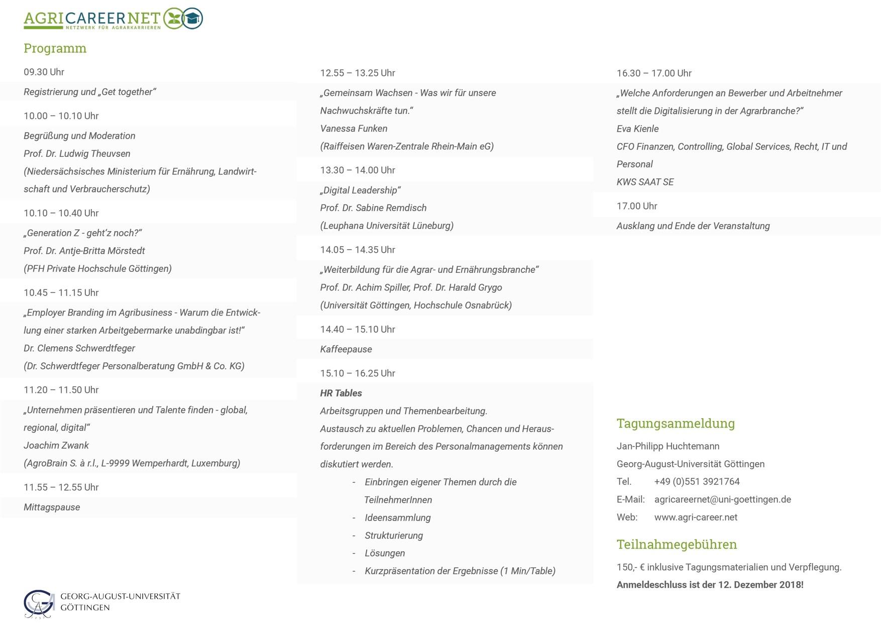Forum HR Programm